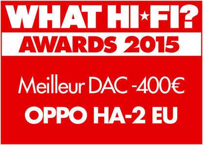 Award What Hi-Fi? 2015 logo